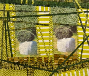 Twins with Matching Hats(25Hx29W)CWSmith.AllRightsReserved