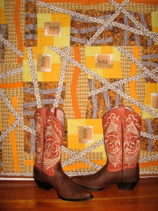 """Rolling in the Hay"" CWSmith with ""Cowgirl Boots"""